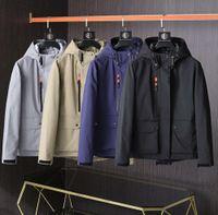 2021 fashion designer men women jackets spring and autumn casual windbreaker hoodie zipper hooded street hip hop men's clothing