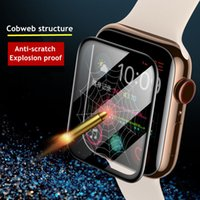 Screen Protector cover For Apple Watch series 6 5 4 3 SE 44mm 40mm 42mm 38mm iwatch Soft Glass film for apple watch accessories