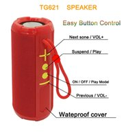 TG621 Портативный Bluetooth-динамик 10W TWS с глубоким басом и кристально чистым звуком PK TG106 TG117 TG116