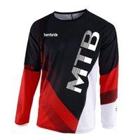 2020 эндуро велосипедные майки мотокросс BMX гоночный джерси нитончик DH с длинным рукавом велосипедная одежда MX летняя MTB футболка X0503