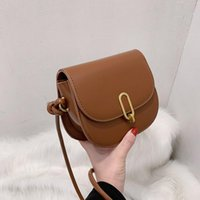 For Shoulder Flap Messenger Women Cylindrical Belt Retro Lady Handbag Bag Leather Crossbody Saddle Quality Female Bags Vghre