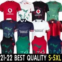 2021 British Irish Lions Leons Rugby Jerseys 21/22 Singlet Jersey Training Test Warm Up Shirt Maglia Gilet Uniformi S-5XL