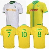 2021 2022 FC نانت لكرة القدم الفانيلة Couleibaly Blas Rongier Touré Coco House Away 21 22 كرة القدم الرجال والأطفال قميص