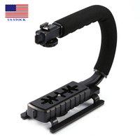 Estabilizador de câmeras portáteis de vídeo C / U suporte de suporte de forma portátil com removível C0047 US STCOK