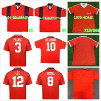79 80 Nottingham Forest 1994 Collymore Haaland Retro Soccer Jersey 94 95 Gemmill Bohinen Roy Stuart بيرس الكلاسيكية خمر كرة القدم قميص