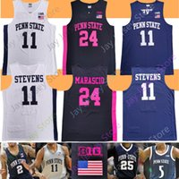 Penn State Basketbol Jersey NCAA Koleji Lamar Stevens Dread Jones Izaiah Brockington Curtis Jones Jamari Wheeler John Harrar Mike Watkins