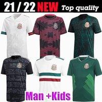 2018 2019 2020 2021 2022 멕시코 축구 유니폼 국립 대표팀 h.moreno Raul H.Lozano Chicharito 20 22 축구 남자 아이들과 여성 셔츠