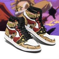 أنيمي مروحة diy أحذية رياضية kego-takami رجل إمرأة كرة السلة أحذية jumpman 1 نموذج المدربين مخصص الأحذية عارضة