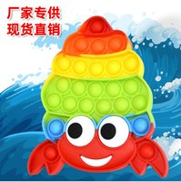 Spot new products children's desktop press bubble decompression educational toys New hermit crab rodent-killing pioneer toys