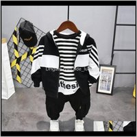 Sets Baby Clothing Baby, Kids & Maternity Fashion Set (Coat+ T-Shirts+Pant) Korean Version Of The Boys Girls Spring Autumn 3Piece Childrens C