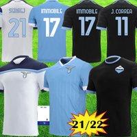 Thaïlande maillot de football Lazio 2019 2020 Lazio chemise de football LUIS ALBERTO IMMOBILES SERGEJ hommes maison loin de pied maglia maillot da calcio