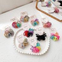 El anillo de color de color de caramelo del bebé de los niños no le duele los accesorios elásticos simples