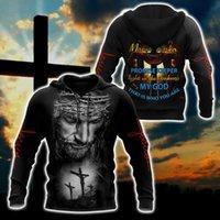 Men's Hoodies & Sweatshirts Amazing Creative Premium Christian Jesus 3D Printed Unisex Art Hoodie Zip Streetwear Oversized 5XL Pullover Spor