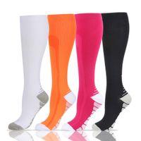 Men Women Compression Socks Crossfit Socks Stamina Golf Rugby Hockey Socks For Anti Fatigue Pain Relief Travel Flight Stockings