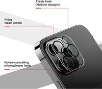 9D kamera ekran koruyucu iphone 11 pro max 12 mini lens koruyucu temperli cam telefon aksesuarları