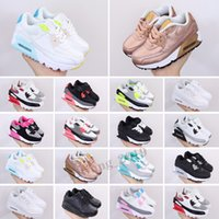 Max 90 детская спортивная обувь детские кроссовки детские сетки дышащие наполовину пальмовые подушки мальчиков девочек ходьба туалет спортивный тренер