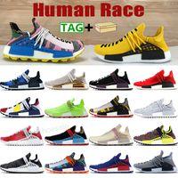 Corrida Humana Correndo Tênis NMD Homens Mulheres Esportes Sneakers China Pack Feliz Scarlet Hu Pharrell Amarelo Amarelo Oreo PW Mens Trainers com caixa