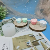 Diy Ice-cream Cup Scented Candle Silicone Mold Cake Torus Waffle Cone Biscuit Baking Resin Decorating Craft Tools