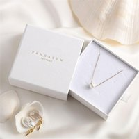 Custom Print Paper Jewellry Business Drawer Cardboard Boxes Personalized Luxury Earings Ring Necklace Packaging Chic Box 210402