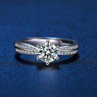 Wedding Rings 2021 Men And Women Engagement Couple Resizable Diamond Ring Fashion Luxury Lady Jewelry