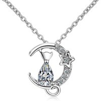 925 Silver Cubic Zircon Short Clavicle Chain Necklaces Pendants For Women Female Party Jewelry Fashion Xmas Gift -X499
