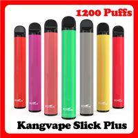 Authentische Kangvape Slick Plus Einweggerät Kit 700mAh Batterie 4.0ml Patrone 1200 Puffs Stick Vape Pen vs Puff Bar plus Xtra