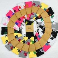 44 Renk Akçaağaç Çorap Erkekler Ve Kadın Çorap Moda Marka Sokak Harajuku Hip Hop Çorap Kaykay Çorap Çift Kenevir Yaprak