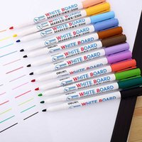 8 12 Pcs Waterproof Whiteboard Sets Erasable Sharpie Markers Pen 8 12pcs Colorful Kids White Board Graffiti Painting Drawing Pen
