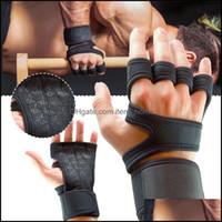 Защитная передача велосипедных видов спорта на открытом воздухеСцикл перчатки 1 вария фитнес черный нейлон противоудача тяжестей тренировочный перчаток половина пальца AESSO