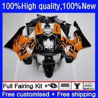 Bodywork For HONDA CBR 893 900 CC 893RR 900RR 1989 1990 1991 1992 1993 Body Orange black 36No.145 CBR893RR CBR900RR 89-93 CBR893 CBR900 RR 89 90 91 92 93 OEM Fairing Kit