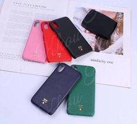 Moda przypadki na telefon dla iPhone 13 Pro Max Mini 11 11Pro x XS XR XSMax Shell PU skórzany projektant 11promaksa 12Promax pokrywa B28- # 1-3