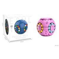 Strange-forma Magic Cube Creative Brinquedo 360 graus Rotação Economizar dinheiro Potenciômetro clássico brinquedos cubos presente de aniversário para crianças hwf6442