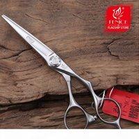 Forbici per capelli Fenice Professionale di alta qualità 6.0 pollici Capelli taglio Forbici per parrucchieri Cesoie per parrucchieri Giappone VG10 Acciaio inossidabile LY191231