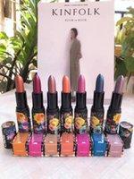 Prix le plus bas Vente de stock !! Maquillage de haute qualité Shimmer Lipstick 7Colors LIME CRIME Rouge à lèvres
