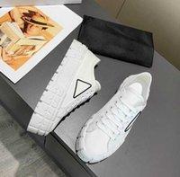 Vente en gros 2021 Plate-forme Casual Chaussures Tirs Motocross Définit la hauteur de la toile surdimensionnée Sneaker Sneaker Inhabitual Design Nylon Gabardine Sneakers