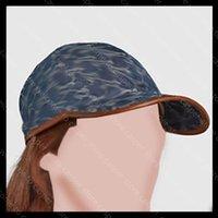Männer Denim Baseballkappe Designer Mützen Hüte Mens Casual Fashion Womens Luxurys Casquette Vollbrief Drucken Bonnet Herren Einbauhut