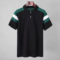 Chemise de la marque Polos de la marque 2021 Tee Homme Summer Street Wear Europe Mode Hommes Haute Qualité Coton Tshirt Casual Sleeve Casual # 667