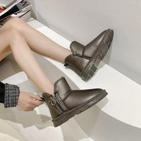Designer Winter Snow Boots In Stock high quality Christmas gift Low Gang sexy womens warm cotton padded Waterproof pashm Shoe