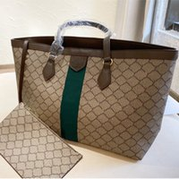 2021 حقيبة يد الأزياء اليد مصمم خطاب مزدوج سعة كبيرة أكياس التسوق المرأة العصرية حقيبة الكتف جودة عالية WF2105122