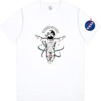 Astronaut National Aeronautics Space Administration NASA T Shirt Black Grey Red Pink White Light Blue Men and Women size S-4XL 284