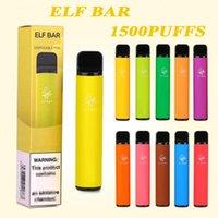 1500 Puffs Elf Bar Lux Electronic Cigarettes 850mAh 4.8 ml Disposable Pre-Filled Vape Pen POD vaping Starter Kit English Russian Version