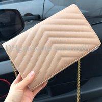 Sac à main en cuir véritable sac à main original Boîte Porte-monnaie Femmes épaule Cross Corps Messenger Caviar Lambskin chaîne de haute qualité