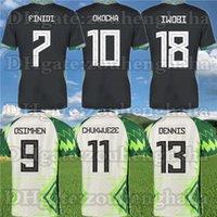 نسخة لاعب Ndidi Osimhen Nigelia Soccer Jersey 20 2120 Nigeres Pre-Match Training Iheanacho Chukwueze Onuachu قميص كرة القدم