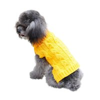 Dog Apparel Winter Clothes Chihuahua Sweater For Small Medium Dogs Knitwear Gatos Dachshund Yorkshire Poodle Costume