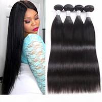 8A Mink Brazilian Virgin Hair Straight 3 Bundles Peruvian Body Wave Human Hair Bundles Weaves Indian Curly Malaysian Deep Water Wave Hair