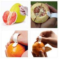 Kitchen Gadgets Cooking Tools Peeler Parer Finger Type Open Orange Peel Orange Device ZHL5285