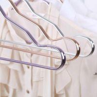 الفضاء الشماعات الألومنيوم سبيكة لا تتبع الملابس الدعم المنزلية المضادة للانزلاق الملابس شنقا windproof الصدأ مقاوم القماش رف FWB7256
