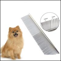 Dog Pet Supplies Home & Gardenpet Dematting Comb Stainless Steel Hairbrush Pets Grooming Tool For Dogs Cats Removing S And Knots Jk2012Xb Dr