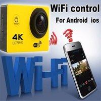 Sports & Action Video Cameras 4K Sport Camera Ultra Diving 1080P 60FPS Wifi Cam Bicycle Outdoor Mini Helmet Waterproof DV
