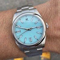 Huîtres de luxe Perpetual Hommes Montre Saphir Sapide Étanche Acier Inoxydable Cadeau Automatique Cadeau Mécanique Reloj Montres Montres Montres-Bracelet